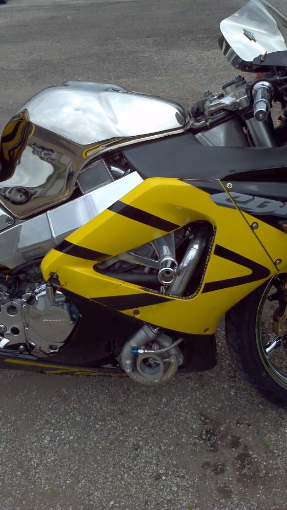 Honda Cbr 929 Custom Turbo Kit By Toyspeed