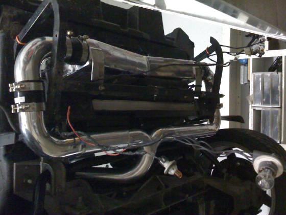 Custom Intercooler Piping